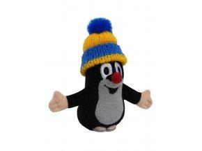 Plyšový Krteček, kulich modrý 11 cm - plyšové hračky