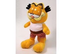 Plyšový Garfield 28cm, šortky svlékací - plyšové hračky
