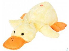 Plyšová kachna se zvukem 40 cm - plyšové hračky