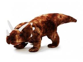 Plyšový triceratops 50 cm - plyšové hračky