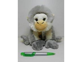 Plyšová opice japonská 28 cm - plyšové hračky