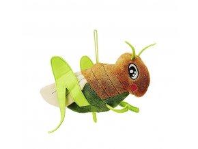 Plyšový luční koník 23 cm - plyšové hračky