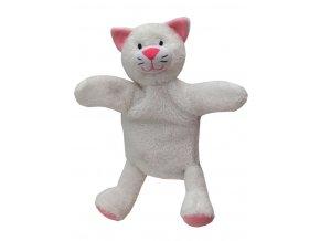Maňásek kočička 27cm - maňásci