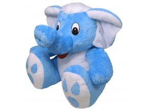 Plyšový slon Bimbo 60 cm, modrý - plyšové hračky