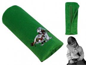 Opěrka na pás Křemílek-zelená 27 cm
