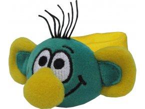 Rákosníček-náramek, chrastítko 11 cm - plyšové hračky