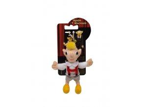 Plyšový Hurvínek s karabinkou 15 cm - plyšové hračky