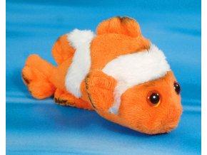 Plyšová ryba Klaun 15 cm - plyšové hračky