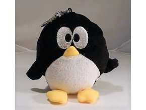 Plyšový tučňák klíčenka 15 cm - plyšové hračky