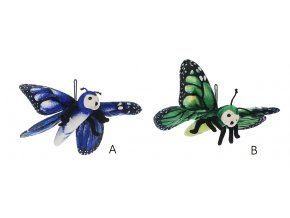 Plyšový motýl 30 cm - plyšové hračky