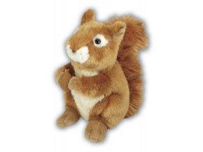 Plyšová veverka 22 cm - plyšové hračky