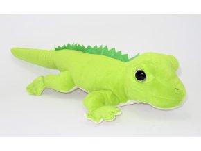 Plyšová ještěrka 40 cm - plyšové hračky