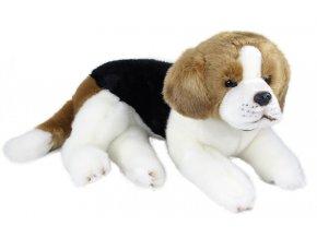 Plyšový pes bígl 38 cm - plyšové hračky
