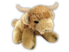 Plyšová kráva vysokohorská 15 cm - plyšové hračky