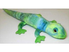 Plyšový mlok zelený 70 cm - plyšové hračky