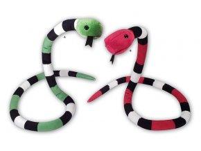 Plyšový had 105 cm - plyšové hračky
