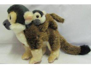 Plyšová opice Kotul veverovitý 20cm - plyšové hračky