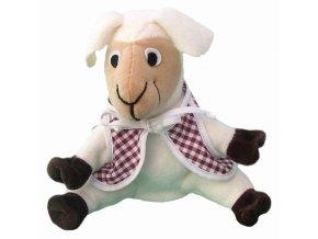 Maňásek ovečka 25 cm - maňásci