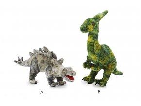 Plyšový dinosauři 2 druhy 50 cm - plyšové hračky