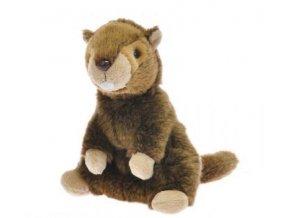 Plyšový svišť maňásek 27 cm - plyšové hračky