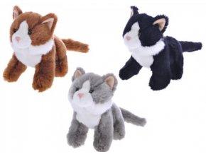 Plyšová kočka 20 cm - plyšové hračky