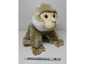 Plyšová opice magot bezocasý 28 cm - plyšové hračky