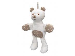 Medvěd 30cm MIMI, kytičky