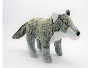 Plyšový vlk 28 cm - plyšové hračky