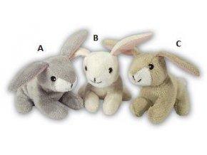 Plyšový králíček 11 cm - plyšové hračky
