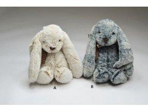 Plyšový zajíc 21 cm - plyšové hračky