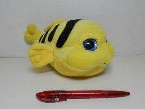 Plyšová ryba žlutá 26 cm - plyšové hračky