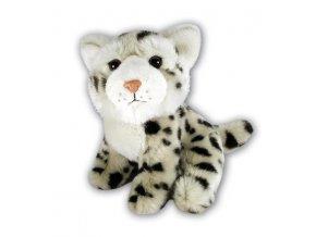 Plyšový leopard sněžný 18 cm - plyšové hračky