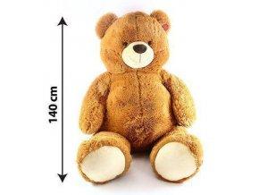 Plyšový medvěd 140 cm - plyšové hračky