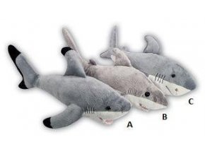 Plyšový žralok 40 cm - plyšové hračky