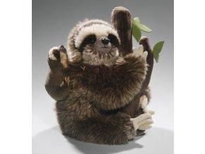 Plyšový lenochod s mládětem 25 cm - plyšové hračky