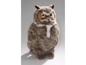 Plyšová sova velká 35 cm - plyšové hračky