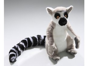 Plyšový lemur 22 cm - plyšové hračky