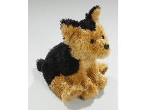 Plyšový foxteriér 18 cm - plyšové hračky
