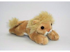 Plyšový lev 13 cm - plyšové hračky