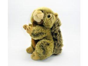 Plyšová veverka 19 cm - plyšové hračky