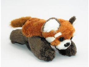 Plyšová panda červená 13 cm - plyšové hračky