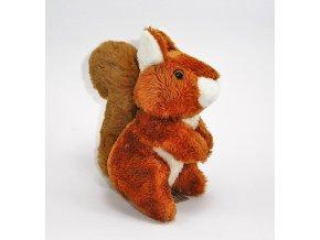 Plyšová veverka 15 cm - plyšové hračky