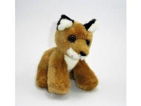 Plyšová liška 13 cm - plyšové hračky