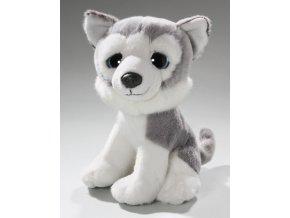 Plyšový pes husky 20 cm - plyšové hračky