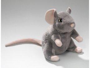 myš sed čer