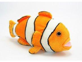 Plyšová ryba klaun 30 cm - plyšové hračky