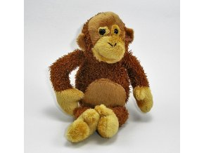 Plyšová opice orangutan 15cm - plyšové hračky