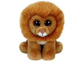 Ty plyšák Beanie Babies LOUIE 15 cm - lvíček