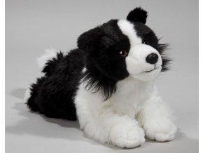 Plyšový pes Border kolie 32cm - plyšové hračky