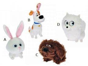 Plyšáci Tajný život mazlíčků 28 cm - plyšové hračky